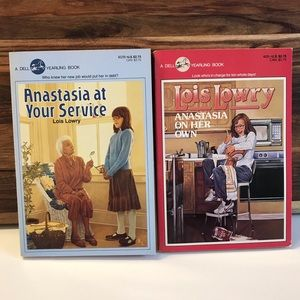 4 Vintage Anastasia Chapter Books by Lowry Fiction